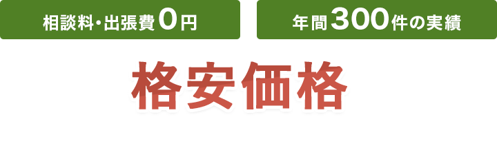 相談料・出張料0円・年間300件の実績・関東エリア遺品整理格安価格を実現。ご家庭の不要品を丸ごと解決!